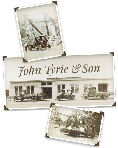 John Tyrie & Son Legacy photos of first generation